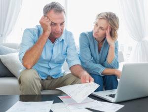 Parents with bills